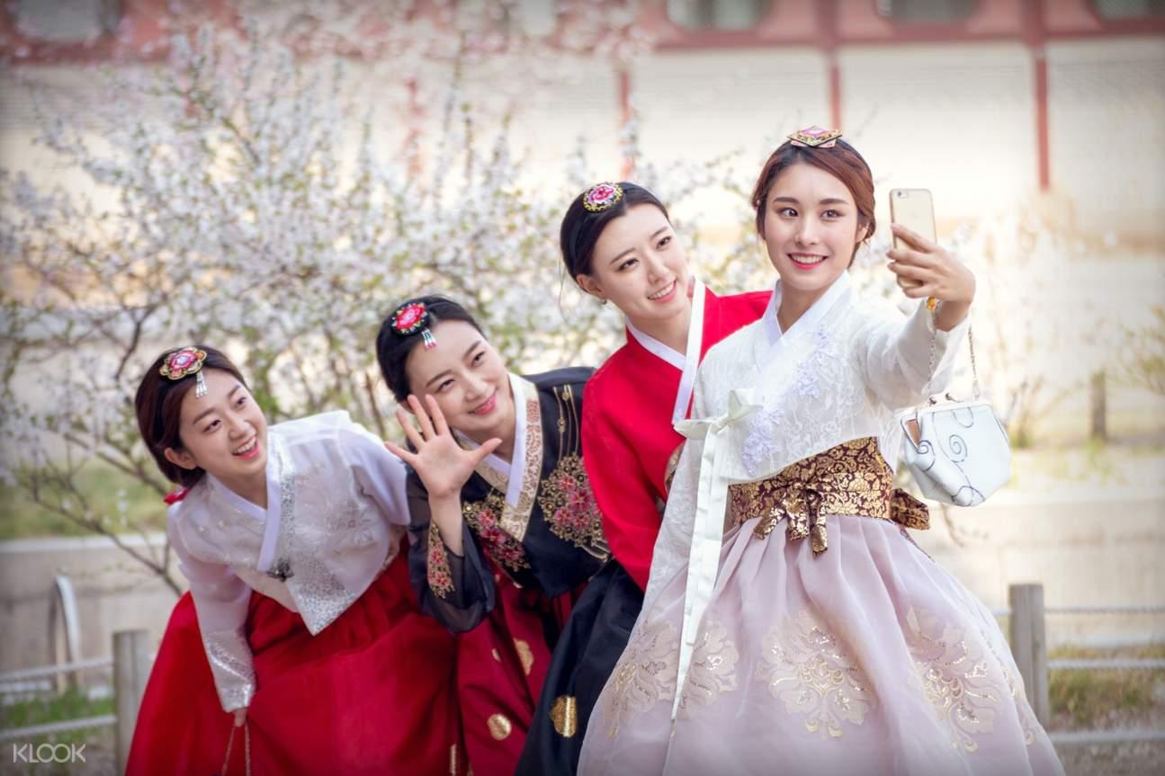 hanbok hairstyle seoul